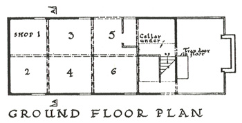 Ground floor plan of The Moot Hall [Lei/Pu1/2]
